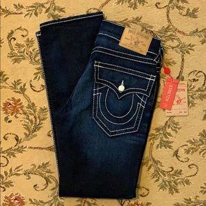 New! True Religion Straight Jeans